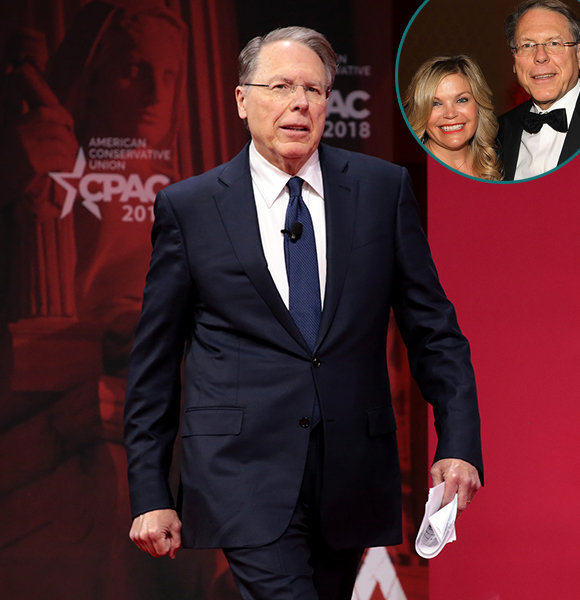 NRA's Wayne LaPierre Massive Net Worth & Salary! Married Life & Family - All Details