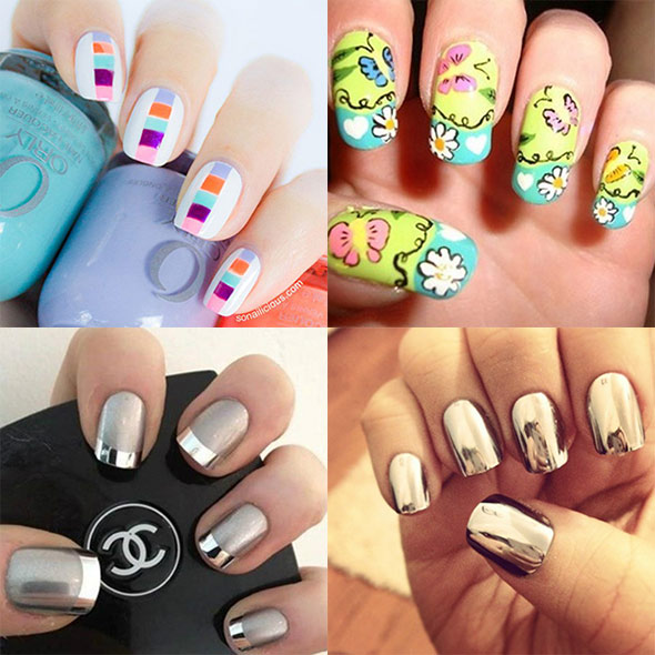Hot Nail Designs Try For Spring