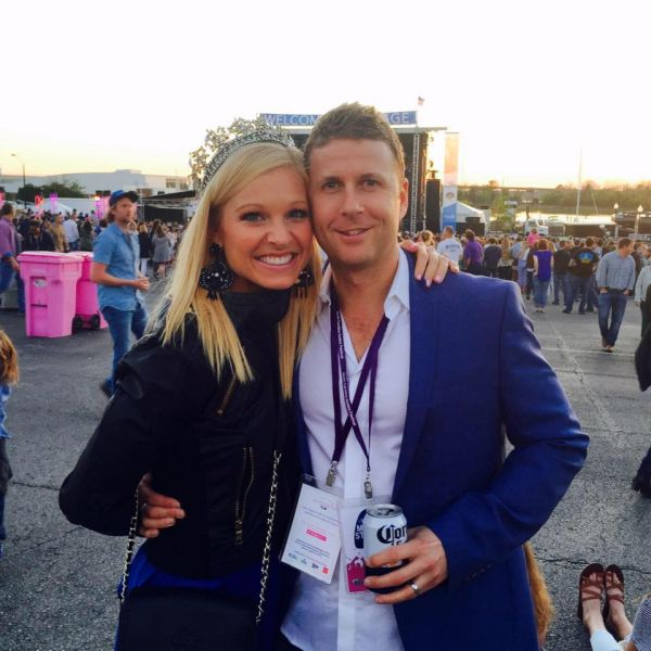 Anna Kooiman with Husband Tim Stuckey