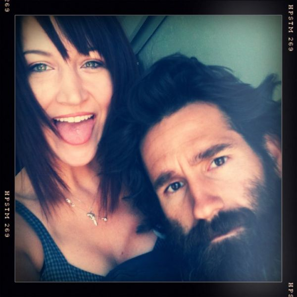 Former boyfriend and girlfriend couple; Aaron Kaufman and Lindsay J.