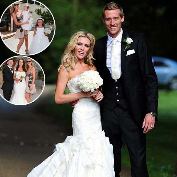 Abbey Clancy, in Brother's Wedding: Peter Crouch as Husband, Dazzling Life With 2 Children