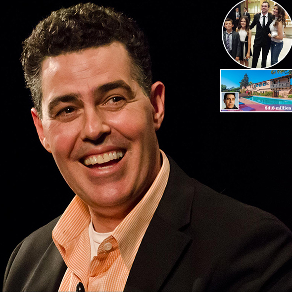 Awesome Comedian Adam Carolla: Blissful Family Life With Wife and Children, Bought a New House?