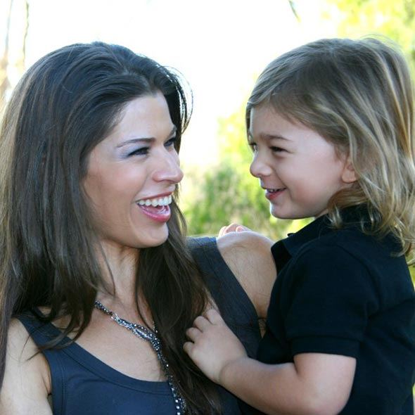 Mix Ethnicity Adrienne Janic, Adventures With Son: Where is Her Husband, Bud Brutsman?