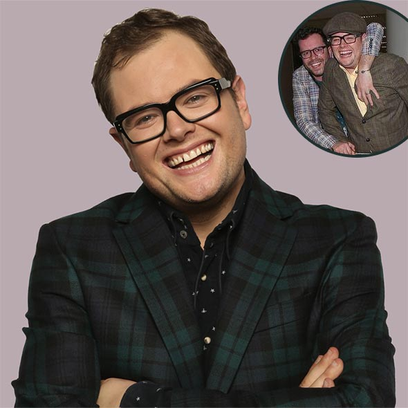 Openly Gay Alan Carr and Husband Paul Drayton: Inside Their Married Life