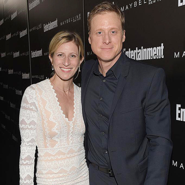 Sorry Ladies! Actor Alan Tudyk Is Now Officially Married To His Beautiful Wife Charissa!