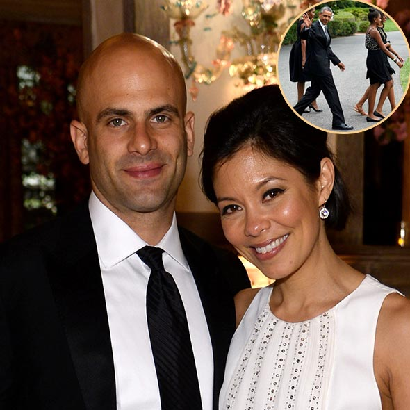 Alex Wagner Magnificent Wedding With Chef Husband: President Obama's Family as Guests