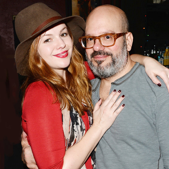 It's Celebration Time! Beautiful Actress Amber Tamblyn Welcomes her First Child, A Baby Daughter with Husband David Cross