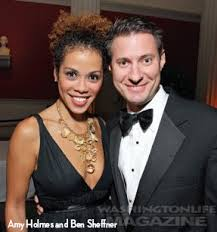 Former boyfriend and girlfriend couple: Amy Holmes and Ben Sheffner