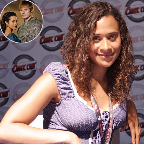 Bradley James Girlfriend Angel Coulby Mixed Ethnicity...