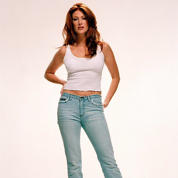 Cancer Survivor Angie Everhart's Extreme Dieting: For Illness Or Her Son?