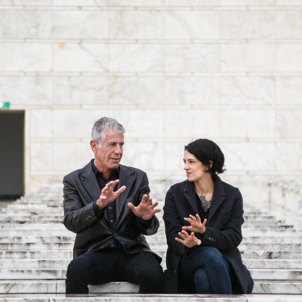 Couple Alert! Asia Argento is Dating Famous Chef Anthony Bourdain