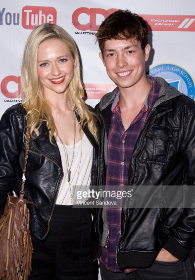 Caption Actors Johanna Braddy And Josh Blaylock Attended The You E World Premiere Event Video High School 2 At La On July 24