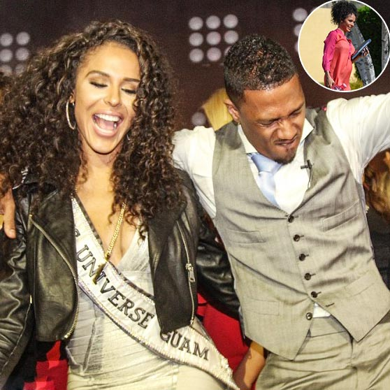 Baby On The Way! Beautiful Brittany Bell Reveals She's Pregnant With Her Former Boyfriend Nick Cannon!