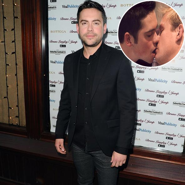 Unmarried Bruno Langley, Popular From Gay Role, Staying Friendly With Girlfriend For Sake of Son