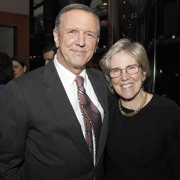 """Former """"Good Morning America"""" Host, Charles Gibson: 49 Years of Married Life But Still The Same Passion For His Wife"""