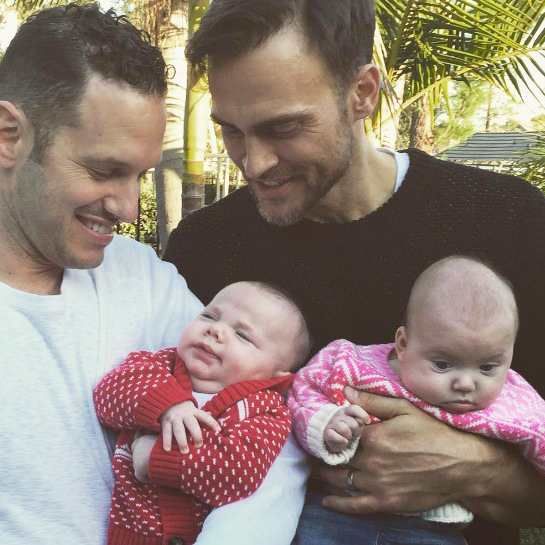 Cheyenne Jackson And His Gay Husband Become And Share Experience Of Being Daddies For The First Time