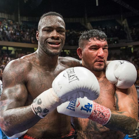 Chris Arreola Defeated By Deontay Wilder: Won WBC Heavyweight Title By Eight-Round Knockout