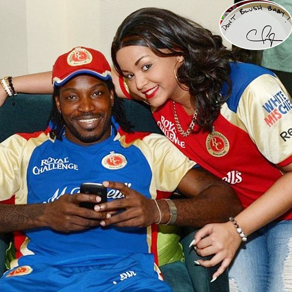 Chris Gayle Reveals Name Of His Child But Is He Married Or Welcomed The  Baby With Girlfriend?