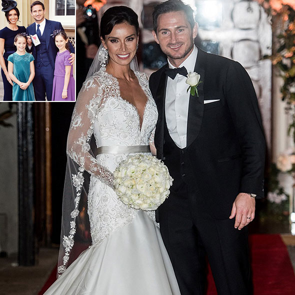Christine Bleakley Married To Frank Lampard In Winter Wedding Daughters Want Her To Be Pregnant