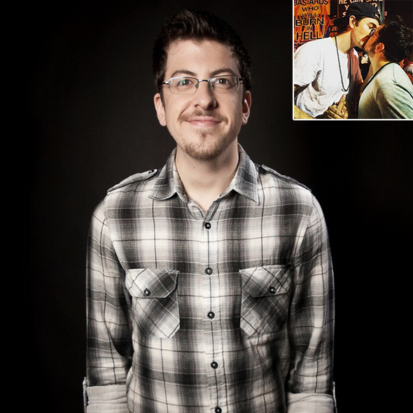 Christopher Mintz-Plasse Shares A Kiss With Guy Best Friend; Keeping Girlfriend Low-Key Or Is He A Gay Man?