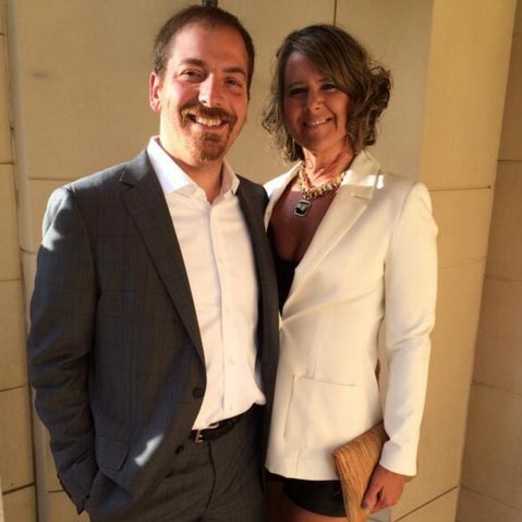 Why MSNBC's Chuck Todd is Raising His Children Jewish, Meet His Non-Jewish Wife, Family With Diverse Background