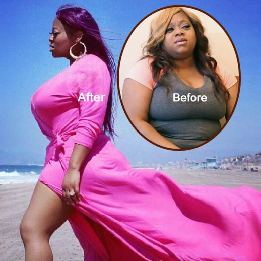 Countess Vaughn, Divorced Mother of 2 Children, Significant Weight Loss