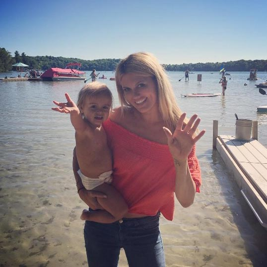 Divorced Courtney Hansen's Perfect Weekend with Toddler Daughter and Boyfriend, Married Plans?