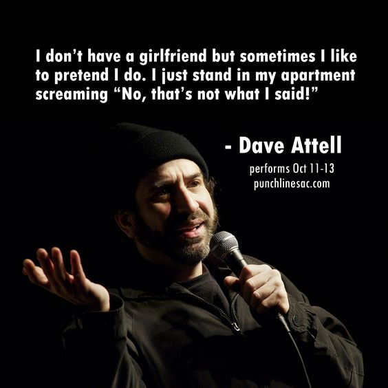 Dave attell dating retarded girl