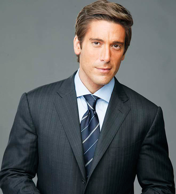 ABC's Heartthrobs : ABC World News Sensation David Muir and Lost's Desmond Hume Are Unknowingly Playing Ditto With One Another