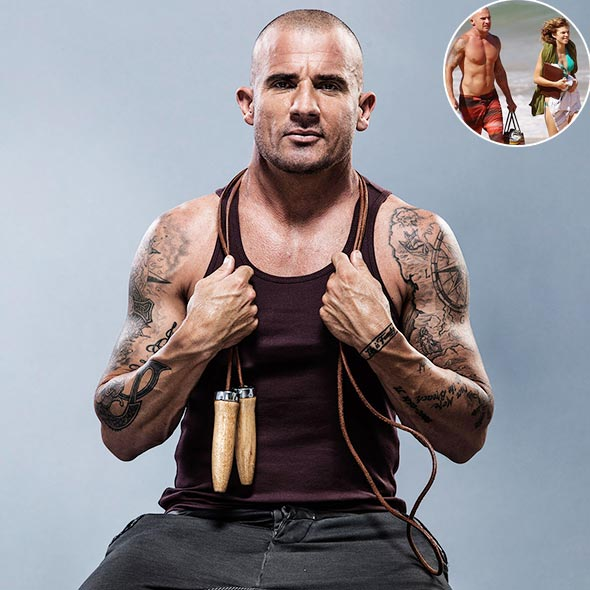 Prison Break's Star Dominic Purcell Finally Back On Set After Terrible On-Set Injury! Thanks to His Girlfriend!