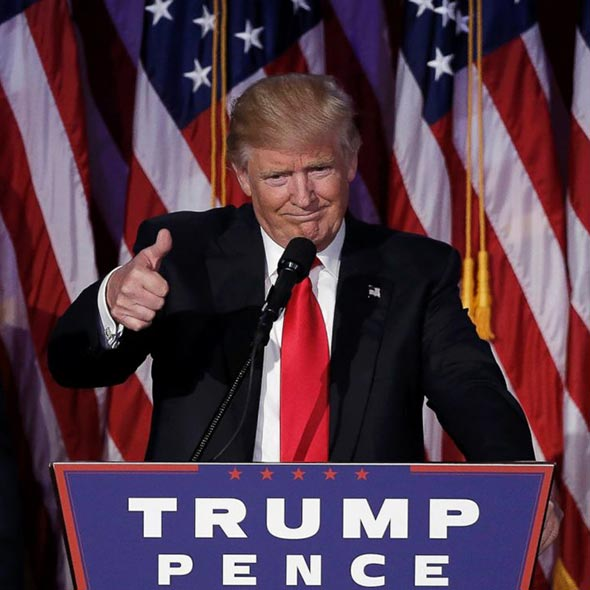 """Donald Trump Expresses his Feeling after getting Triumphant in Presidential Election:""""for America to bind the wounds of division"""""""