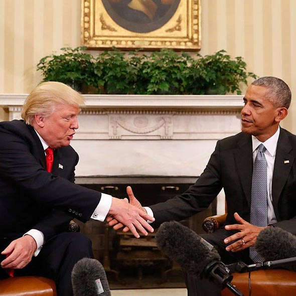 Donald Trump Meets Barack Obama in The White House Setting Side all The Past Disputes! View Full Report