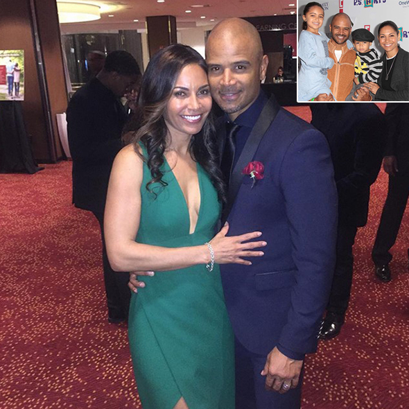 Dondre Whitfield Shows Parenting Goals As He Becomes Whatever Is Required For Kids With Wife Of 15 Years