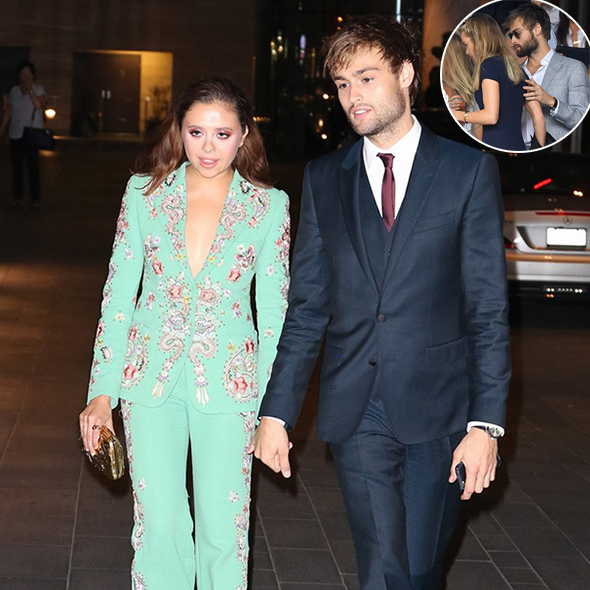 After Getting Cozy With The Prince's Ex-Girlfriend, Douglas Booth Started Dating His Co-Star