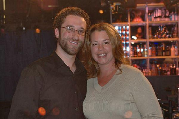 Dustin diamond and wife