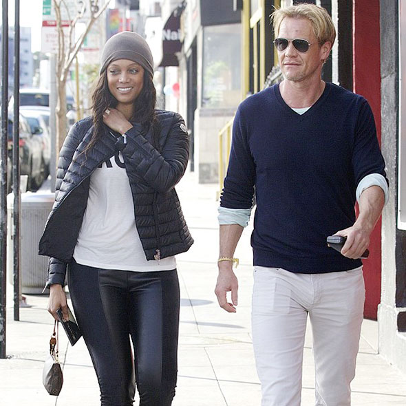 Tyra Banks And Son: Erik Asla: Blissful Life With Girlfriend And Son, Planning