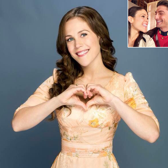 Erin Krakow Advancing Relationship With Co-Actor And Making Him Her Boyfriend? A Work Place Dating Affair Taking Place?