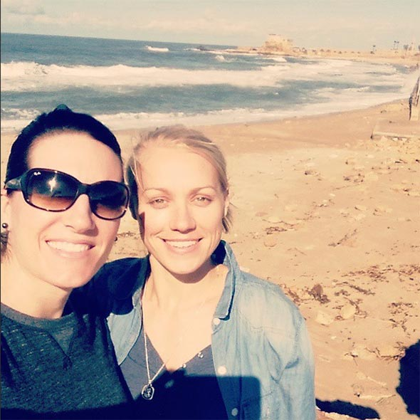 Erin Phillips: Lesbian Partner Tracy Gahan, Everything for Her. Not Married, but Included in Family Pic