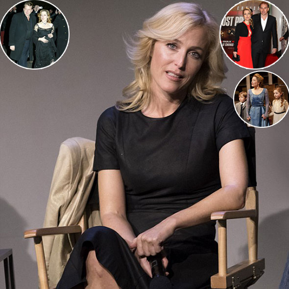Gillian Anderson, Twice Divorced With Husbands and Mother of 3 Children, Opens Up About Her Relationship Status
