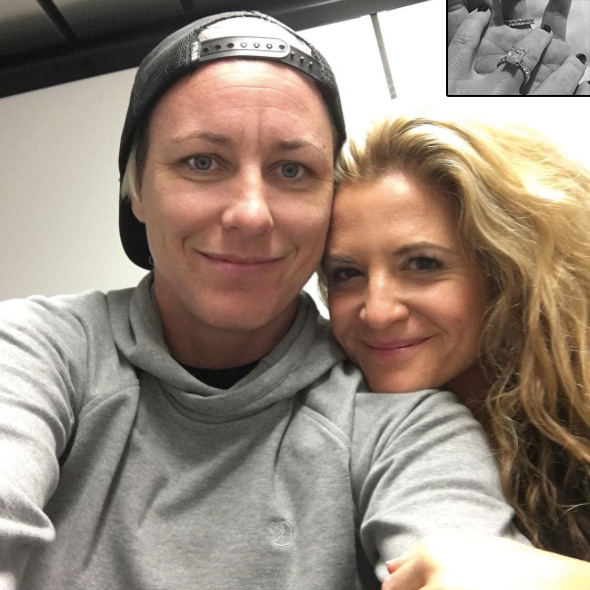 Love Wins Again! Aspiring Author Glennon Doyle Melton is Engaged to her Boyfriend Abby Wambach