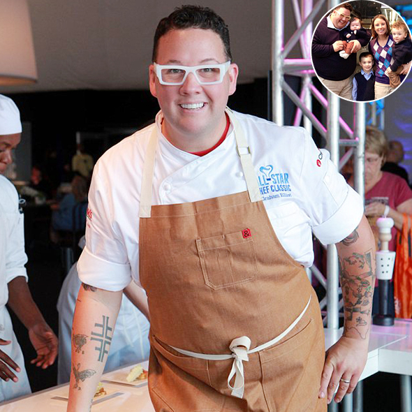 Chef Graham Elliot's Sporty Anniversary at Baseball Stadium With His Wife, His Restaurant Concept and Opening Date