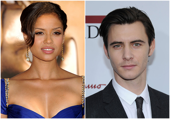 Gugu Mbatha with 'Game of Thrones' star Harry Lloyd