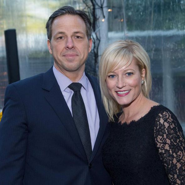 ABC World News' Jake Tapper: Blessed with Manager Wife and 2 Children