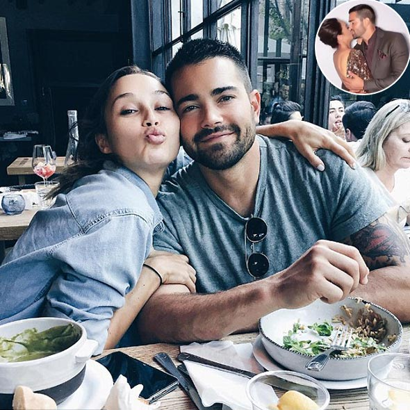 Actor Jesse Metcalfe Shares First Engagement Kiss With His Fiancee Cara Santana! When Do They Plan to Getting Married?