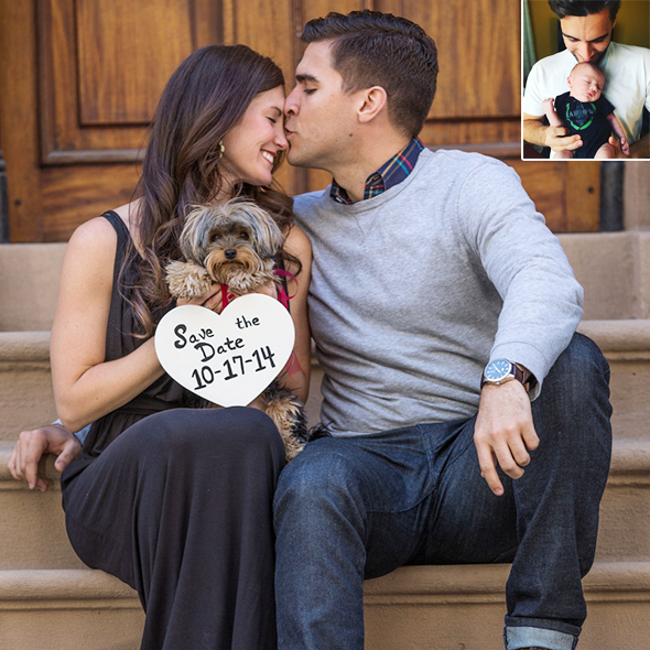 Actor josh segarra and his wife welcome a baby boy to the family ccuart Image collections