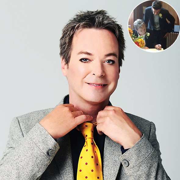 Openly Gay Comedian Julian Clary's Now Officially Married To His Longtime Partner Ian!