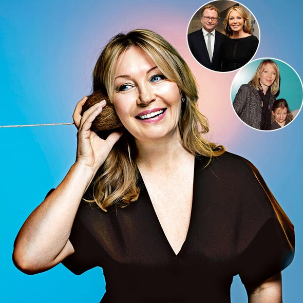 Television Presenter Kirsty Young's Blissful Married Life With Her Husband And Children!
