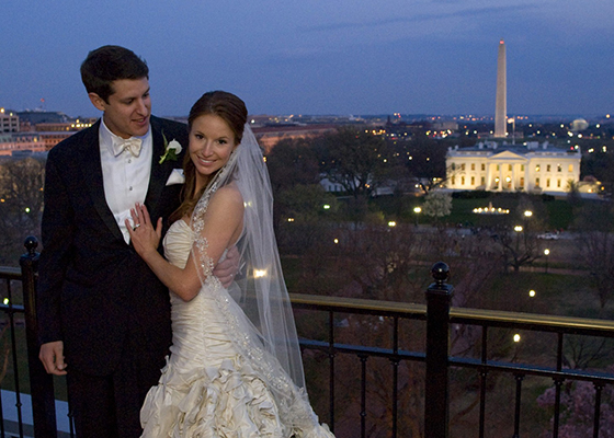 Fox News Kristin Fisher And Her Director Husband A Look Back At Their Washington Wedding