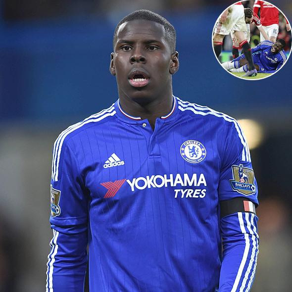 Almost A Year After Horrific Leg Injury, Kurt Zouma Returns To The Pitch In Full Steam