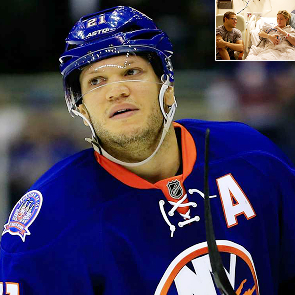 Ice Hockey Winger Kyle Okposo's Married Life with his Girlfriend Turned Wife, His Career History and Daughter